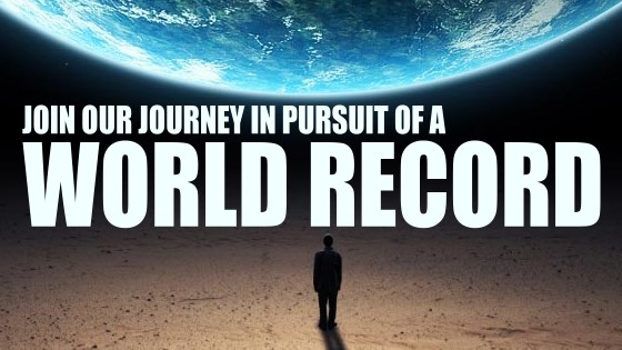 1B JOIN OUR JOURNEY TO A WORLD RECORD PEACE CITY